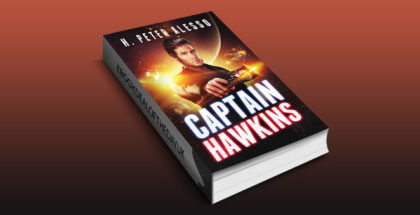 "science fiction ebook ""Captain Hawkins (The Jamie Hawkins Saga Book 1)"" by H. Alesso"