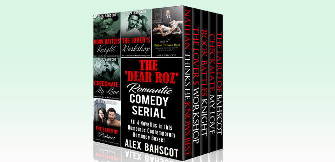 romantic comedy boxed set The 'Dear Roz' Romantic Comedy Serial: All 4 Novellas in this Humorous Contemporary Romance Boxset (The 'Dear Roz' Series Book 1) by Alex Bahscot