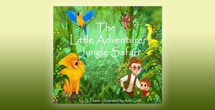 "children's fiction ebook 'The Little Adventurer Jungle"" by Safari S. Pizana"