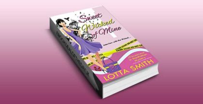 "paranormal cozy mystery ebook ""Sweet Wicked of Mine (Paranormal in Manhattan Mystery Book 5)"" by Lotta Smith"