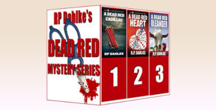 "womensleuth cozy mystery ebook ""3 Boxed Set-The Dead Red Mystery Series"" by RP Dahlke"