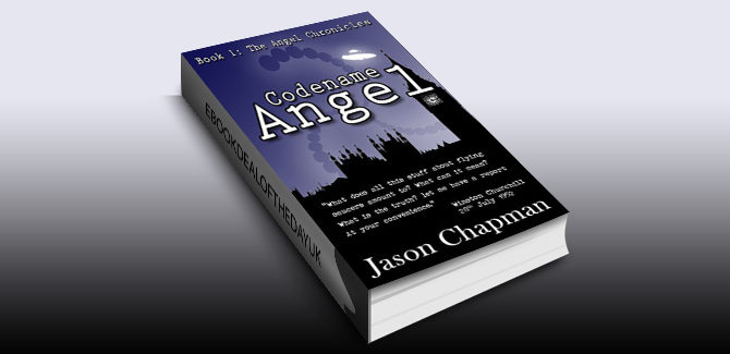historical scifi thriller ebook Codename Angel: Cold War Thriller Series 1 by Jason Chapman