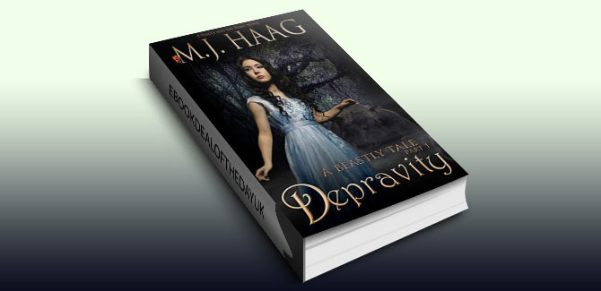 historical paranormal romance ebook Depravity: A Beauty and the Beast Novel (A Beastly Tale Book 1) by M.J. Haag