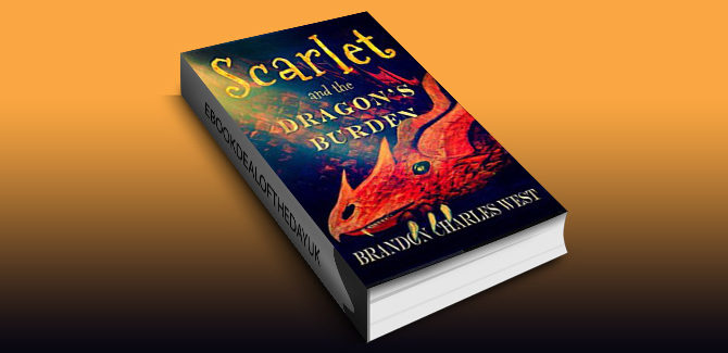 ya middle grade fantasy ebook Scarlet and the Dragon's Burden (Scarlet Hopewell Series Book 2) by Brandon Charles West