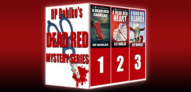 womensleuth mystery boxed set The Dead Red Mystery Series (The Dead Red Mystery Series-Three complete novels) by RP Dahlke