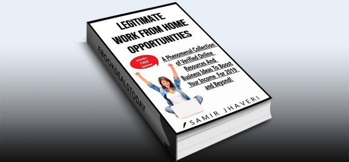 Legitimate Work From Home Opportunities by Samir Jhaveri