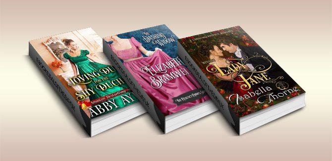 Three Regency Historical Romance Ebooks!